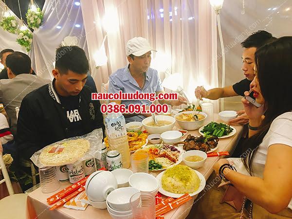 Dịch Vụ Nấu Cỗ Tại Nhà Hải Phòng 0386091000 Phục Vụ 15 Mâm Tiệc Sinh Nhật Bé Hải Anh