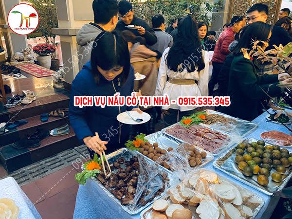 Đặt Tiệc Buffet Tại Nhà Hoàng Quốc Việt 80 Khách Nhà Chị Quỳnh