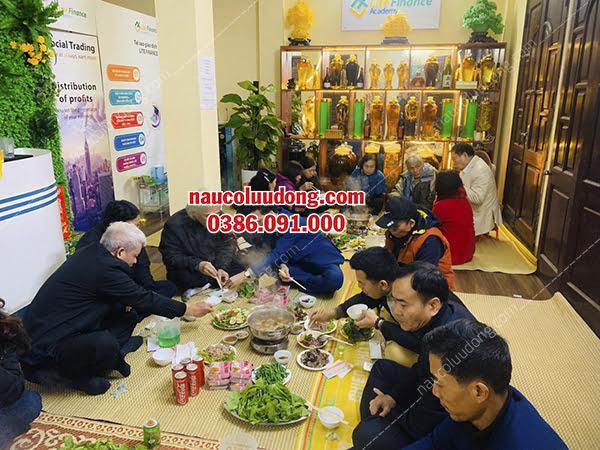Dịch Vụ Nấu Cỗ Thuê Sóc Sơn  0386091000