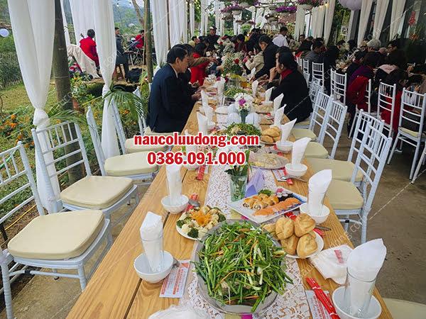 Dịch Vụ Nấu Cỗ Thuê Ở Ba Vì 0386091000