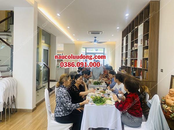 Đặt Tiệc Tại Chung Cư 0386091000 | Nấu Cỗ Tại Nhà Hà Nội