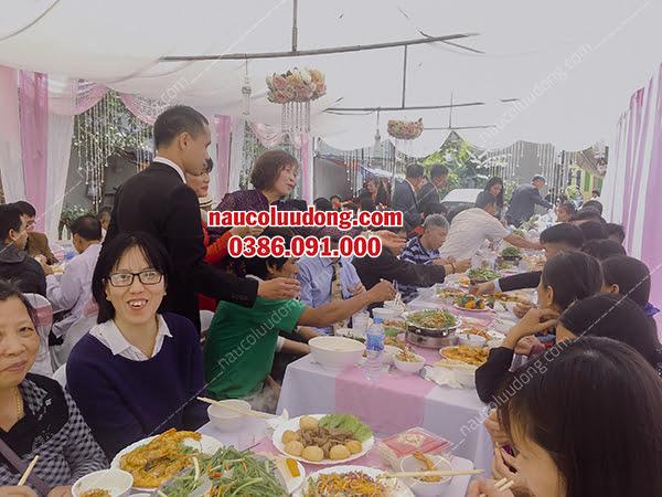 Dịch vụ nấu cỗ cưới thuê ở Vĩnh Phúc 0386091000