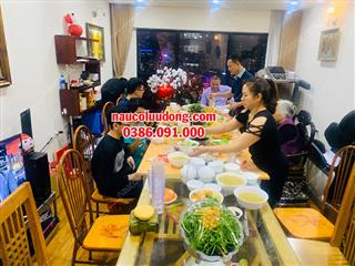 Nấu Cỗ Taị Nhà Ở Chung Cư the Golden An Khánh 0386091000