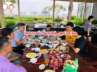 Nấu cỗ ở Victoria Văn Phú Hà Đông 7 mâm nhà chị Hương