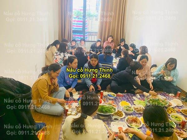 Đặt cỗ tại nhà ở Hoàng Văn Thụ 0911212468