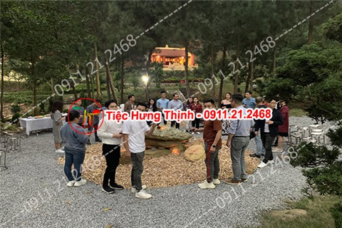 Phục vụ tiệc buffet tại Sóc Sơn- Hà Nội
