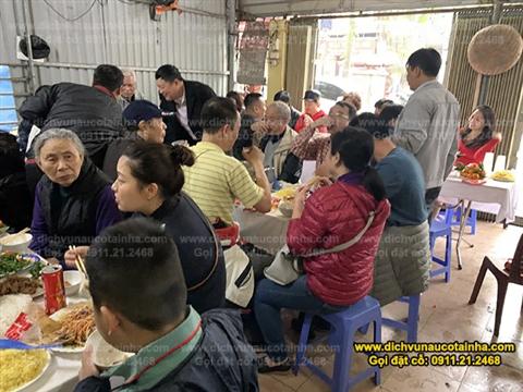 Đặt cỗ tại nhà ở Định Công 0911212468