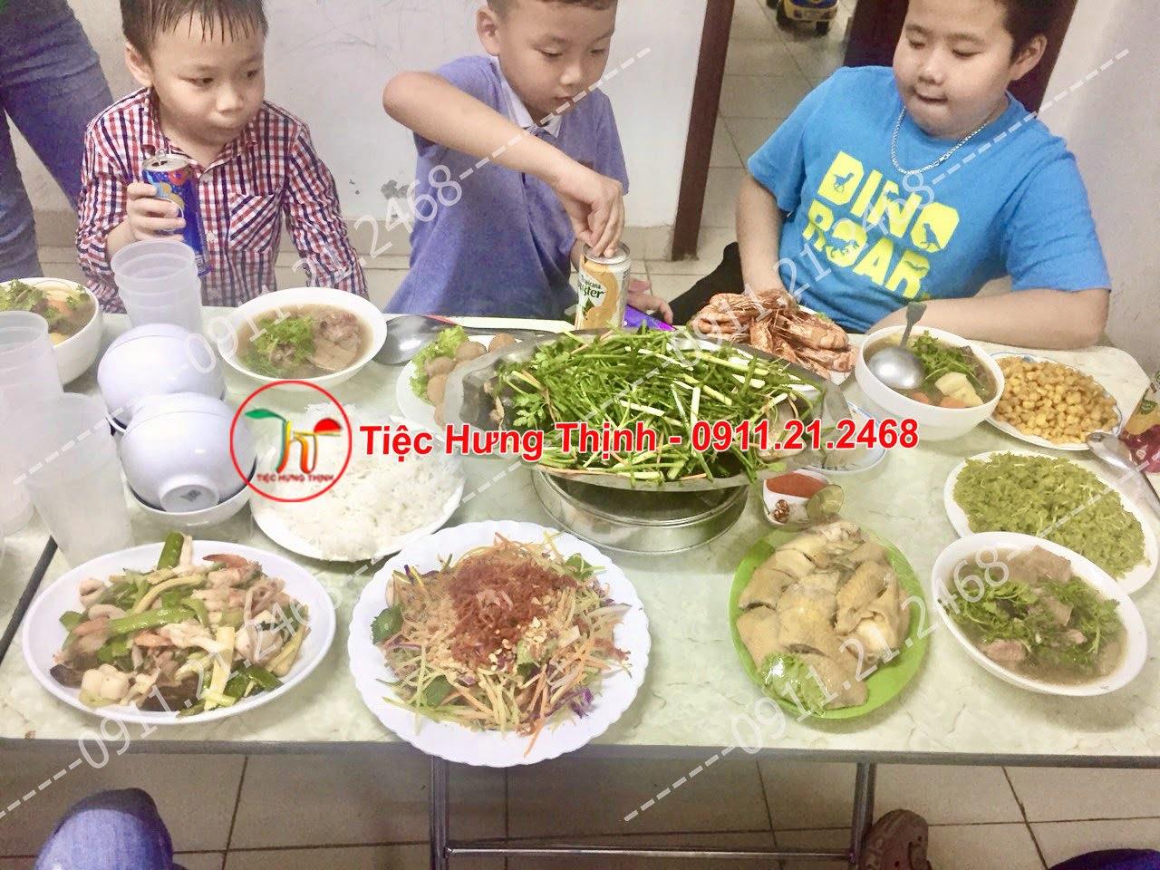 Đặt cỗ tại nhà ở Phương Liệt 0911212468