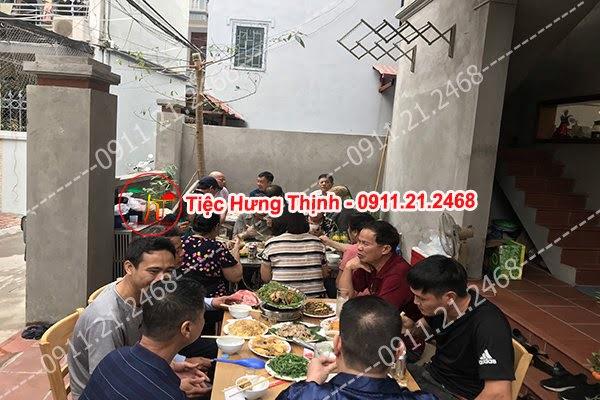 Đặt cỗ tại nhà ở Nghi Tàm 0911212468