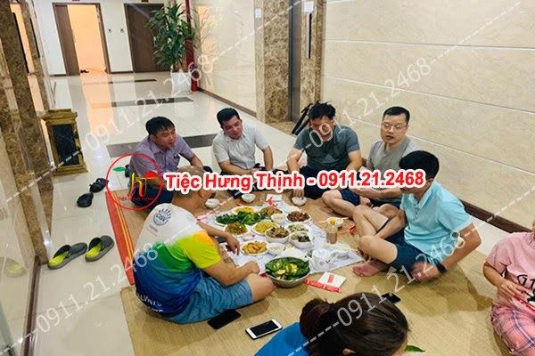 Đặt cỗ tại nhà ở Hàn Thuyên 0911212468