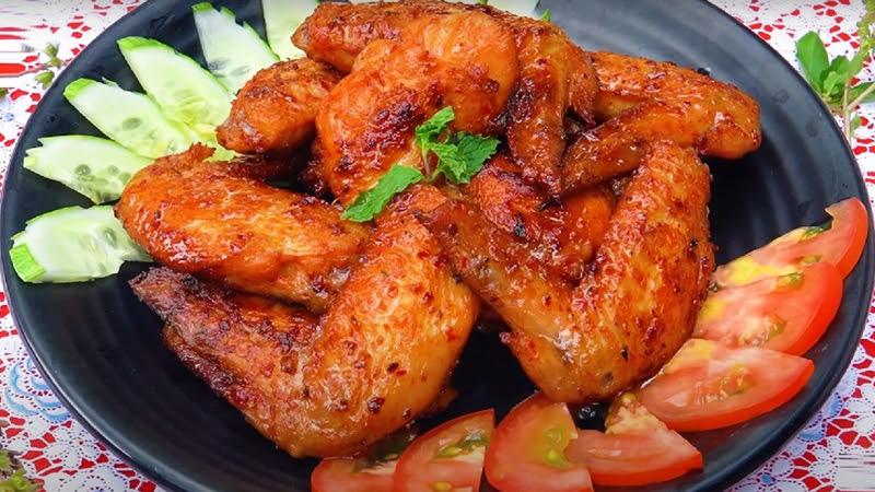 Cách làm cánh gà nướng muối ớt thơm ngon