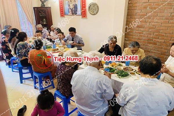 Đặt cỗ tại nhà ở Trung Mầu 0911212468