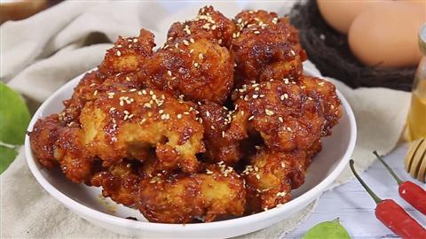 Công thức gà chiên sốt cay Hàn Quốc siêu ngon